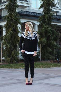 Последний выход: идеи для «рождественского» свитера 7