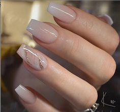 54 Beautiful and romantic nail art design ideas - mix-matched neutral nails, nud. - - 54 Beautiful and romantic nail art design ideas – mix-matched neutral nails, nud… – 54 Beautiful and romantic nail art design ideas – mix-matched neutral nails, nud… Best Acrylic Nails, Acrylic Nail Designs, Neutral Nail Designs, Glitter Nail Designs, French Manicure Acrylic Nails, French Pedicure, French Nails, Gold Nails, Pink Nails