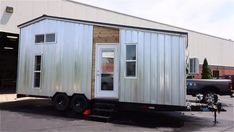 Silver Bullet Tiny House on Wheels by Titan Tiny Homes based on Shedsistence 0022