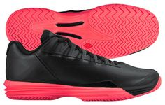 US Open Hot Lava - Nike Lunar Ballistec 1.5 Men's Tennis Shoe (008) ,