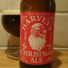 Harvey's Christmas Ale from Harvey & son #harveys #christmasbeer #Christmas #barleywine #Beer #brittish #brittishbeer