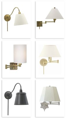round up of our favorite plug in swing arm wall lights good bones great pieces - Bedroom Swing Arm Wall Sconces