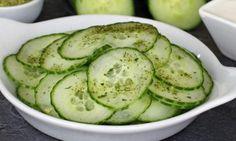 Légère et rafraîchissante...La salade de concombre asiatique
