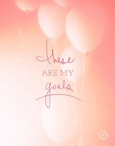 goals 2014 - must sort mine ASAP!