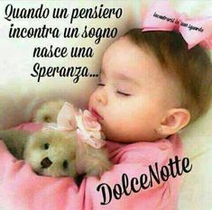 Dolce notte Good Night, Good Morning, Italian Life, Italian Quotes, Spiritual Thoughts, Good Mood, Life Quotes, Facebook, Emoticon