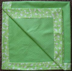 Somebody made me some of these for my baby and they were my FAVORITE blankets.  Maybe I will attempt to make one someday