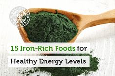 15 Plant-Based, Super Iron-Rich Foods for Healthy Energy Levels