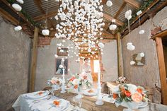 Wednesday Design | Hanging Marshmallows as Ethereal Snow
