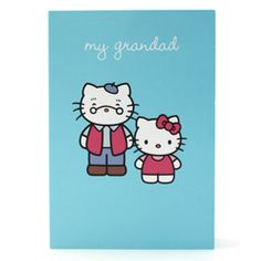 Hello Kitty My Grandad Card