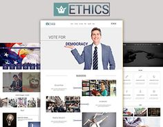 Ethics – Free Political Landing Page is a single responsive Landing Page theme, is a theme that's made to help you win in your political race and be the hub of your campaign. Whether Democrat, Republican, or any other type of party, this theme… Landing Page Html, Html Templates, Working On Myself, New Work, Politics, Behance, Gallery, Check, Free