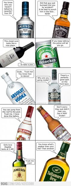 If booze could talk