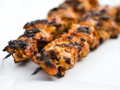 Smoky and Spicy Yogurt Marinated Chicken Kebabs | Serious Eats : Recipes