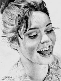 портрет карандаш -15