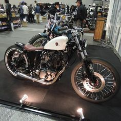 Yamaha sr400 | Bobber Inspiration - Bobbers and Custom Motorcycles | taku420 September 2014