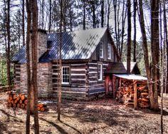 Rustic Cabin by Eric Lorenzen