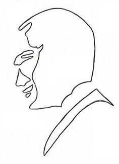 Çaydan Atatürk Portresi (Kalıplı):