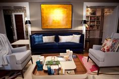 """Big and Carrie's living room from """"Sex and the City 2"""""""