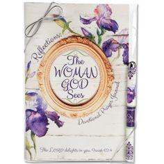 Reflections:  The Woman God Sees Devotional Prayer Journal