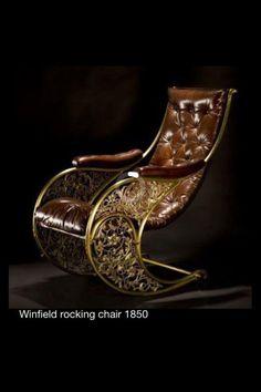 Winfield rocking chair 1850