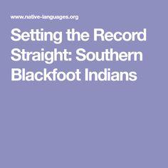 20 Best Blackfoot Indians-Southeast U S  images in 2019   Blackfoot