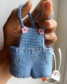 Watch This Video Incredible Crochet a Bear Ideas. Cutest Crochet a Bear Ideas. Crochet Doll Dress, Crochet Barbie Clothes, Crochet Doll Pattern, Crochet Patterns, Knitting Dolls Clothes, Doll Clothes Patterns, Doll Patterns, Crochet Baby, Knit Crochet