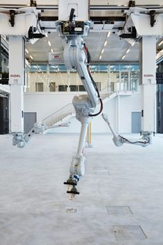 robotic fabrication in architecture gantrysystemwithindustrialrobots
