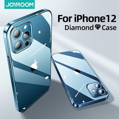 Joyroom Clear Case For iPhone 12 11 Pro Max Back - For iPhone 12 / Transparent / China