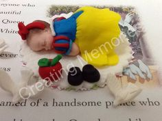 Cake Topper  Baby Girl in Yellow Dress by anafeke on Etsy, $18.00
