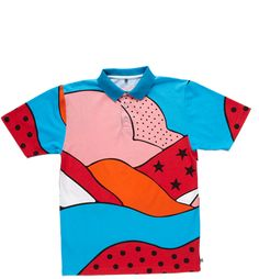 Rockwell Abstract Polo Shirt