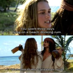 Pirates of the Carribean...i love these movies....sept the 4th of course...cuz will and liz aren't in them
