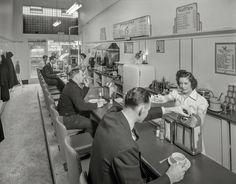 Jack's Sandwich Shop, San Francisco, circa 1941