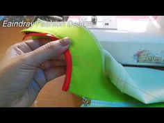 (2) How to sew bias tape on your neckline - YouTube