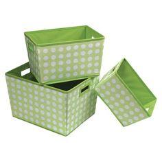 Badger Basket Nesting Decorative Bin Trapezoid Set Of 3