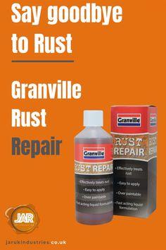 Say goodbye to rust.