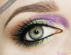 Beautiful make-up by Cavalli fall 2012  - click to see tutorial