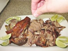 Pernil! Dominican Roasted leg of pork or pork shoulder. This is a fool proof recipe that I use. So good!!!
