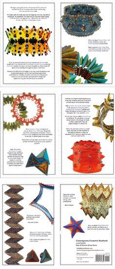 Kate McKinnon & Jean Power - new book - Contemporary Geometric Beadwork
