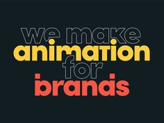 Branded Website Header We've finally managed to find some time for a little spring clean of the brand, website & reel. This'll be our new site header, the rest should be live in the next week or two. Animation Types, Text Animation, Animation Reference, Animation Storyboard, Animation Background, Disney Animation, Graphic Design Trends, Web Design, Graphic Design Inspiration