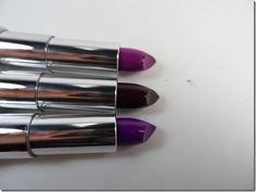 Maybelline Limited Edition Purple Lipsticks Fall 2013