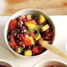 Our Best Fresh Salsa Recipes | Smoky Black Bean and Mango Salsa  | MyRecipes.com