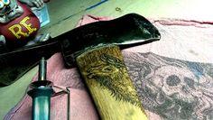In the works...  Vintage kelly works wildlife Pulaski...