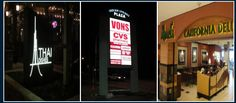 Promote your brand through illuminated signs. Illuminated Signs, Broadway Shows, Broadway Plays
