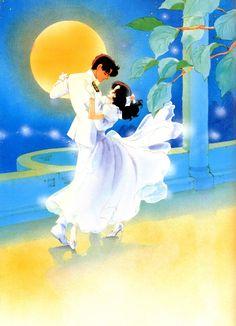 """Art from """"Waltz In A White Dress"""" series by manga artist & """"Revolutionary Girl Utena"""" creator Chiho Saito."""