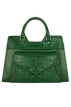 The Extras: Going Green - Proenza Schouler bag