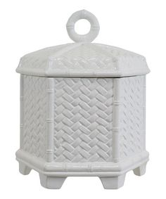 Take a look at this White Akina Box by The Import Collection on #zulily today!