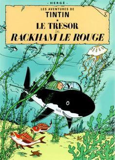 Le Trésor de Rackham Le Rouge, c.1944 Pôsters por Hergé (Georges Rémi) na AllPosters.com.br