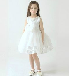 Big Bow Flower Girl dress