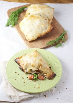 carrot and pea hand pies