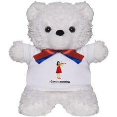 Blind Violinist Teddy Bear