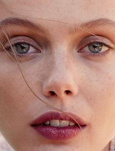 Frida Gustavsson by Benjamin Vnuk for Glamour France May 2015.